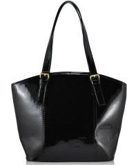 Женская сумка 5915 лак черная