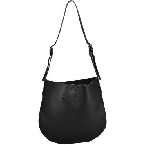 Женская кожаная сумка 830 черная