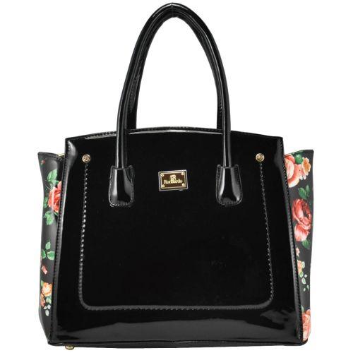 Женская сумка 11-11 Rose черная