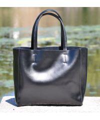 Кожаная сумка Blacker черная