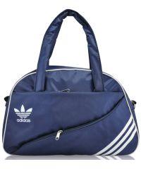 Спортивная сумка Diagonal синяя с белым