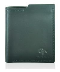 Кожаное портмоне Grande Pelle 50161020 черное