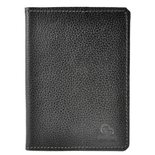 Обложка для паспорта Grande Pelle черная