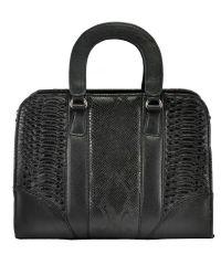 Женская сумка 1815 питон черная
