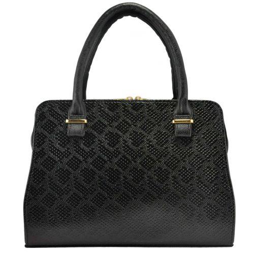 Женская сумка 3115 питон черная