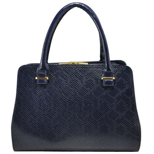 Женская сумка 3115 питон синяя