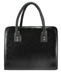 Женская сумка 3314 питон черная