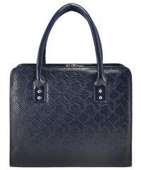 Женская сумка 3314 питон синяя