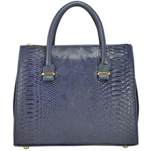 Женская сумка 4915 питон синяя