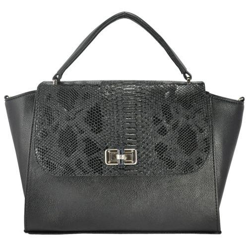 Женская сумка 5115 питон черная