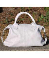 Кожаная сумка Kozima белая