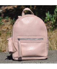 Кожаный рюкзак Meri пудра