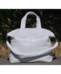 Кожаная сумка Nightingale белая