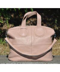 Кожаная сумка Nightingale пудра