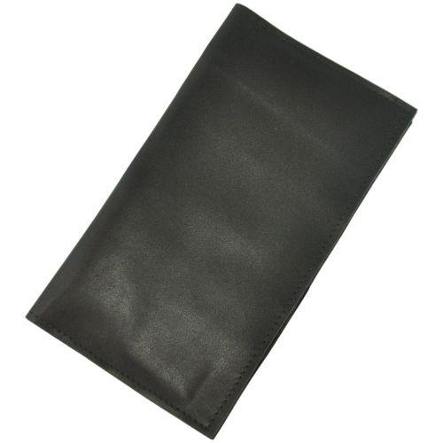 Кожаный кошелек ku-17 черный