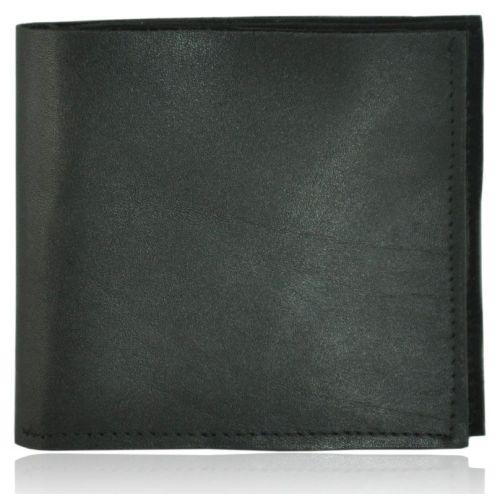 Мужской кошелек кожаный ku-12 черный