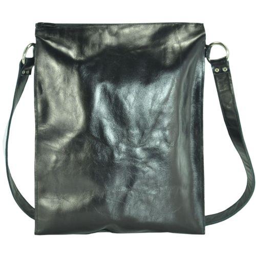 Кожаная сумка sg-64-5 черная