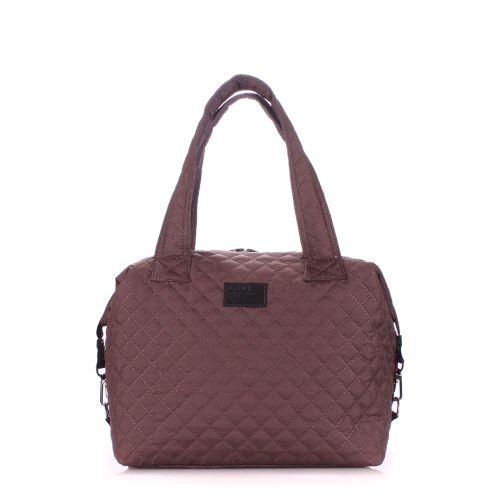 Стеганая сумка PoolParty tokyo-brown