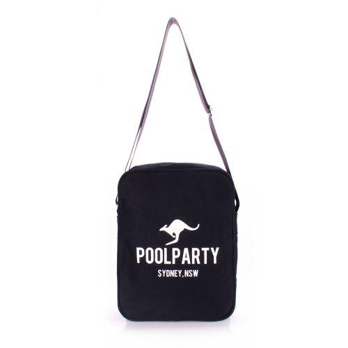 Мужская сумка Poolparty pool-18-black