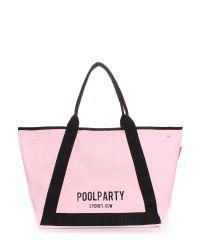 Женская сумка PoolParty Laguna розовая