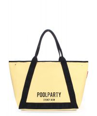 Женская сумка PoolParty Laguna желтая