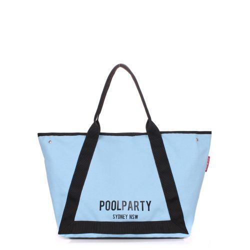 Женская сумка PoolParty Laguna голубая