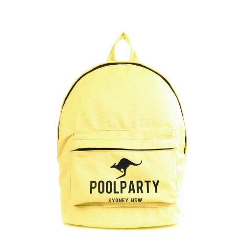 Рюкзак молодежный PoolParty backpack-kangaroo-yellow