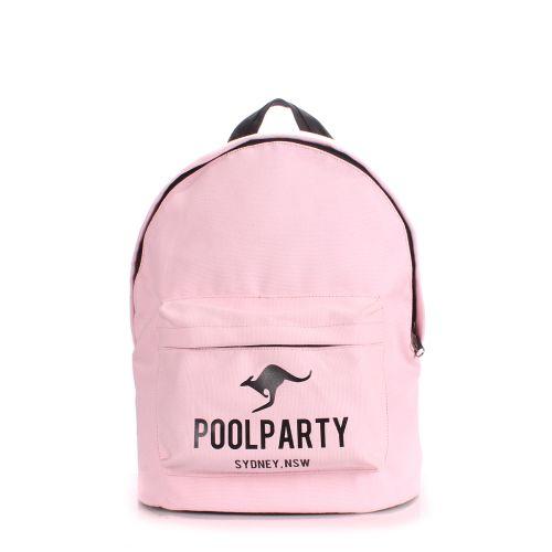 Рюкзак молодежный PoolParty backpack-kangaroo-rose