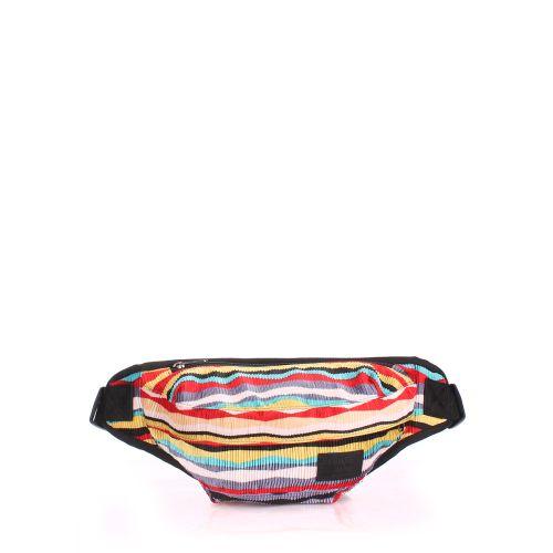 Бананка PoolParty bumbag-velvet-red