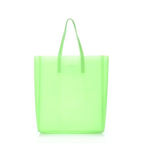 Женская силиконовая сумка poolparty-city-gossip-green
