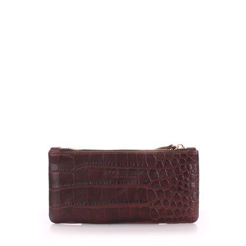 Кожаный кошелек Poolparty moneykeeper caiman коричневый