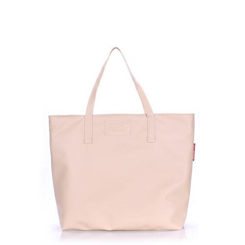 Женская сумка Poolparty pool-88-cream-PU