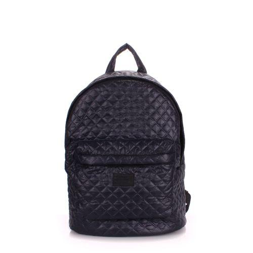 Рюкзак стеганый PoolParty backpack-theone-darkblue