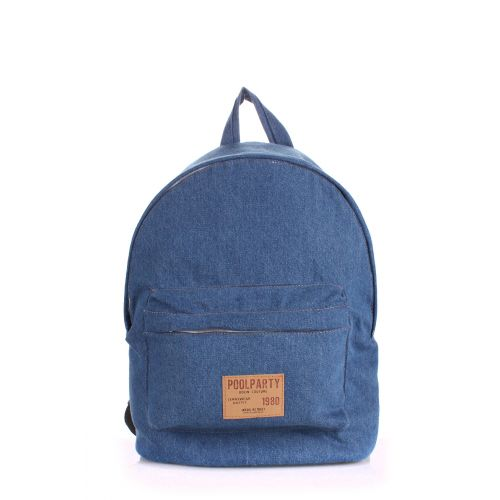 Рюкзак PoolParty backpack-jeans