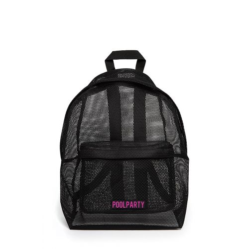 Рюкзак PoolParty backpack-mesh-black