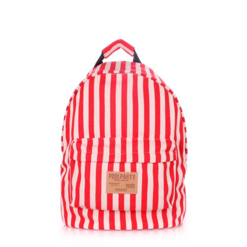 Рюкзак PoolParty backpack-navy-red