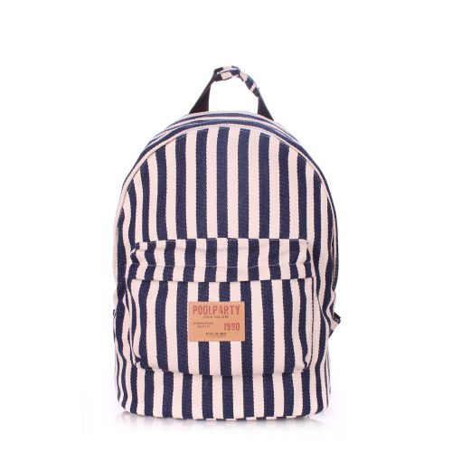 Рюкзак PoolParty backpack-navy-blue