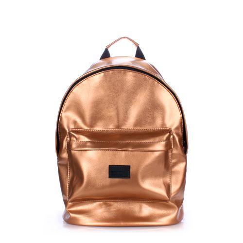 Рюкзак PoolParty backpack-pu-gold