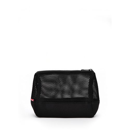 Косметичка Poolparty mesh черная
