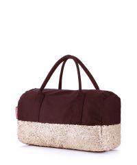 Женская сумка Poolparty rocknroll-brown-gold