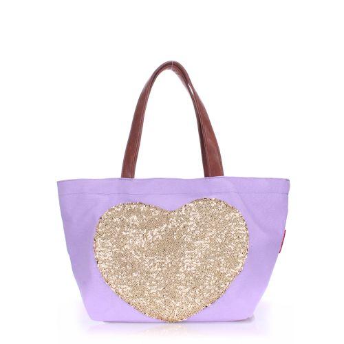 Женская сумка Poolparty pool-lovetote-lilac