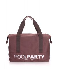 Спортивная сумка Poolparty pool-12-brown