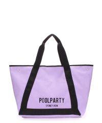 Женская сумка PoolParty Laguna фиолетовая