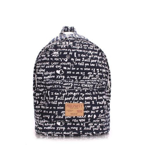 Рюкзак молодежный PoolParty backpack-signature-darkblue