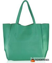 Женская кожаная сумка poolparty-soho-mint зеленая