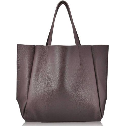 Женская сумка Poolparty Soho Leather Soho Bag кожаная темно-фиолетовая