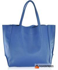 Женская кожаная сумка poolparty-soho-darkblue синяя