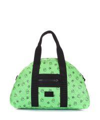 Стеганая сумка PoolParty alaska-ducks-green