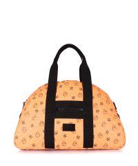 Стеганая сумка PoolParty alaska-ducks-orange
