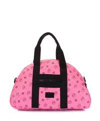 Стеганая сумка PoolParty alaska-ducks-pink